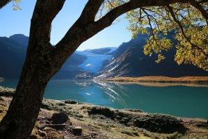 Svartisen mit Gletschersee