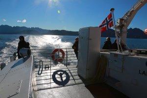 Speedboot im Blauen