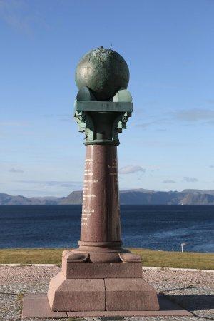 Meridiansäule Hammerfest