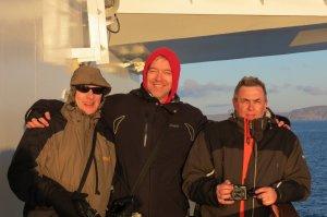 Mit Dank an Susi: Drei Wikinger in der Barentsee