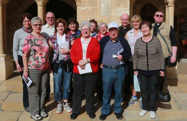 Gruppenbild in Bethlehem