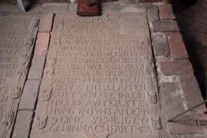 Grabplatte Schönebeck