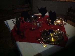 Abendessen ist fertig