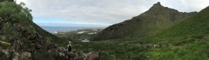 Aussicht vom Barranco Itobal