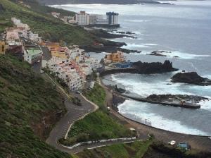 Blick auf El Pris und Meso del Mar