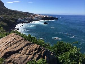 Las Aguas und Meer