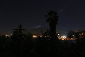 Teide bei Mondschein