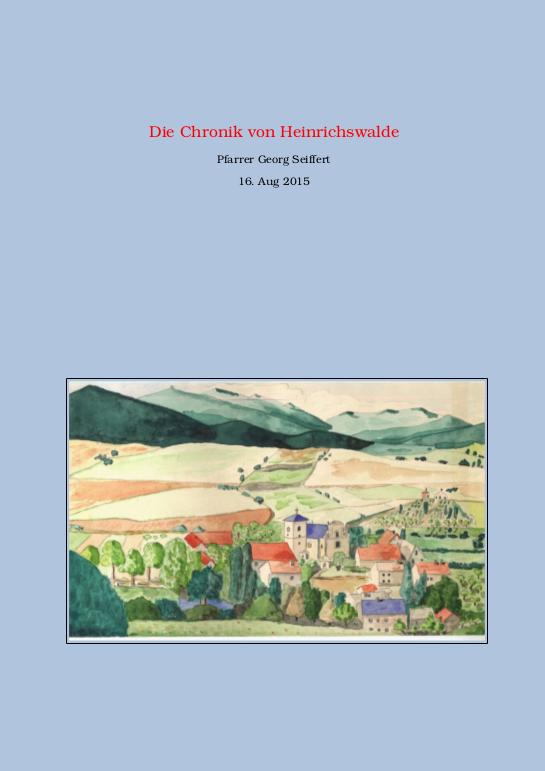 Die Chronik von Heinrichswalde