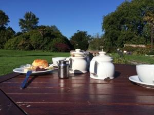Warten auf Gardener's Breakfast