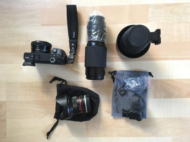 Fotoausrüstung für Israel
