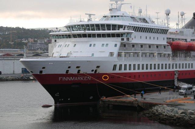 MS Finnmarken in Trondheim
