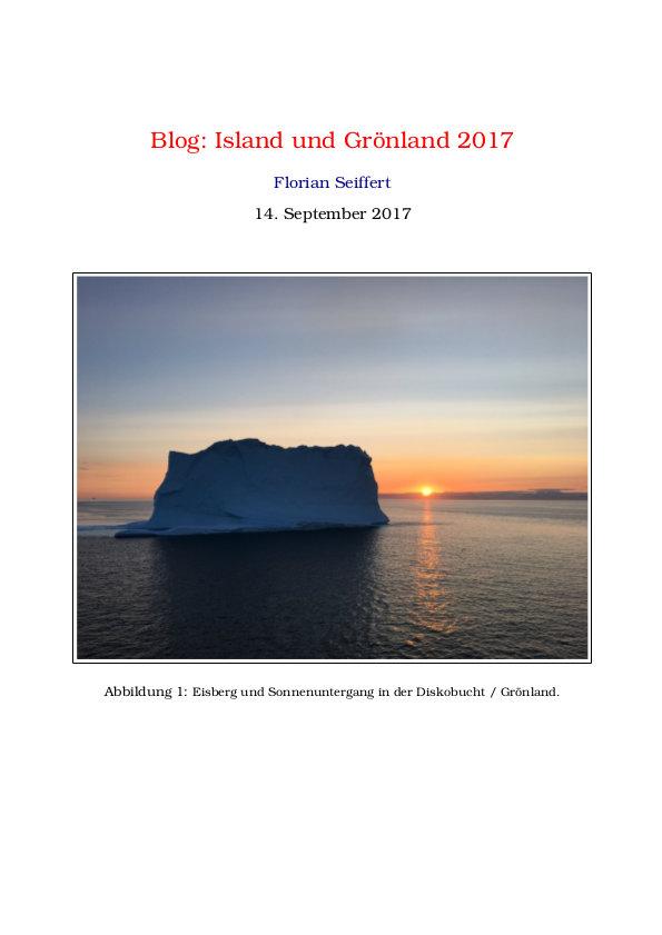 2017 Blog Island und Grönland