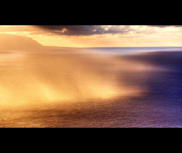 Regenschauer in der Sonne - Tenerife