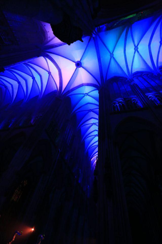 Der Kölner Dom bei Silent MOD