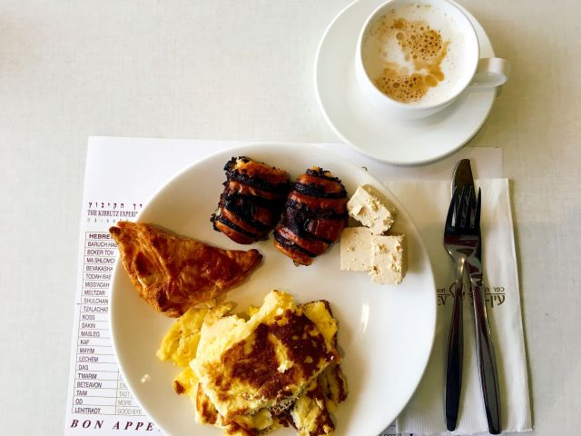 Frühstück in Ein Gev Israel